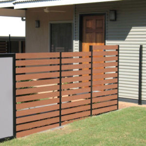 Aluminium Wood Fence -- Apply for Garden, Farm, Courtyard, Highway pictures & photos