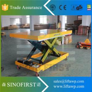 1ton to 3ton High Lift Scissor Cargo Lift Platform pictures & photos