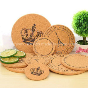 Promotion Gift Natural Wooden Round Cork Coaster pictures & photos