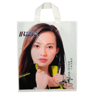 Premium LDPE Carrier Bags for Garments (FLL-8376) pictures & photos