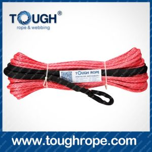 Tr-14 ATV Winch Dyneema Synthetic 4X4 Winch Rope with Hook Thimble Sleeve Packed as Full Set pictures & photos