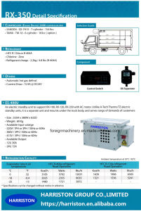 High Quality Refrigeration Unit Rx-350 for Small Storage Volume Type pictures & photos