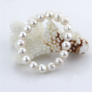 Snh Natural with Wedding Genuine Pearl Jewelry Set pictures & photos