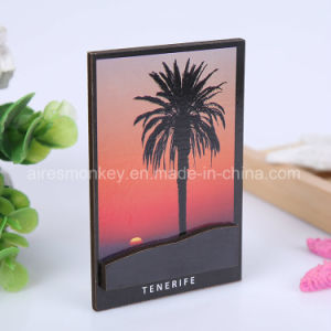 Souvenir Custom Wood 3D Fridge Magnet pictures & photos