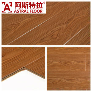 High Gloss Surface (Great U Groove) Laminate Flooring (AS6608) pictures & photos