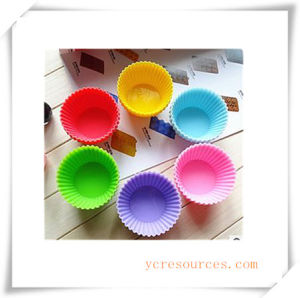 16 Cavity Oval Silicone Mold for Soap, Cake, Cupcake, Brownieand More (HA36024) pictures & photos