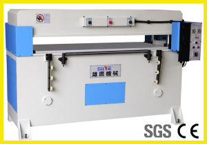 Hot Sale Precision Four Column Hydraulic Plane Fabric Cutting Machine pictures & photos