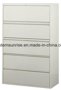 Four Drawers Vetical Metal Steel Iron Storage Cabinet pictures & photos