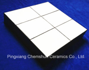 Chemshun Rubber Ceramic Composite Wear Liner for Impact Protection Manufactueres pictures & photos