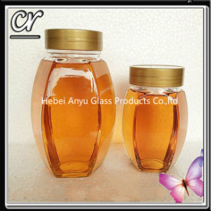 1000g Glass Bee Honey Jar pictures & photos