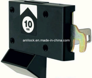 Coin-Operated Lock, Supermarket Cabinet Lock, Furniture Lock (AL2105) pictures & photos