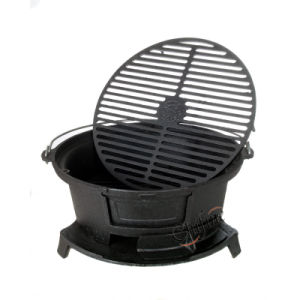 Enamel Coating Cast Iron Grill Cast Iron BBQ Grills pictures & photos