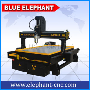 Ele 1324 Stone Carving Machine, Wood Working 4 Axis CNC Router with Big Rotary pictures & photos