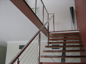 Balustrade Stainless Steel Wire Balustrade Stainless Steel Railing Pr-B187 pictures & photos
