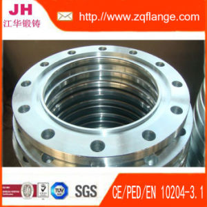 """Asa 300# 10"""" Groove Flange and Material Is A105 pictures & photos"""