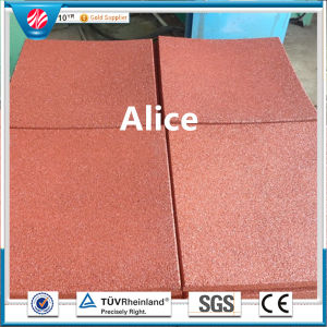 Outdoor Playground Rubber Tiles/Gym Rubber Tiles/Recycle Rubber Tile pictures & photos