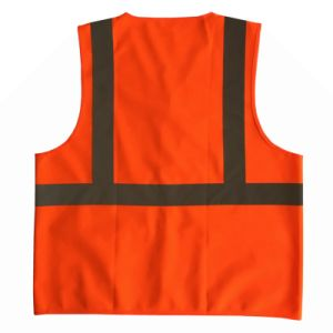 Reflective Safety Vest with Pockets pictures & photos