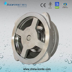 H72 Stainless Steel Wafer Type Check Valve pictures & photos