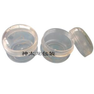 60g Cosmetic Packagings PS Plastic Cream Jars