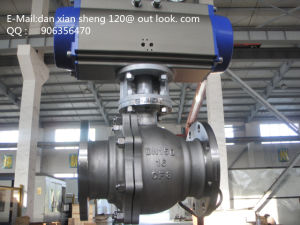 Pneumatic Steel Ball Valve pictures & photos