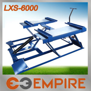 Lxs-6000 Car Repair Car Lift Scissor Car Lift pictures & photos