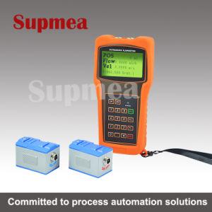 Running Water Portable Ultrasonic Flowmeter Acid and Alkaline Liquid Seawater