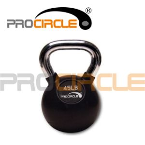 High Quality Crossfit Rubber Coated Kettlebell pictures & photos