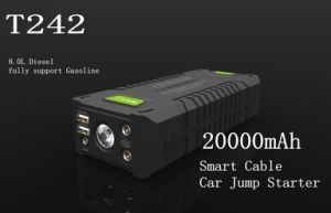 High Power 20000mAh Mini Truck Jump Starter Portable Car Booster pictures & photos