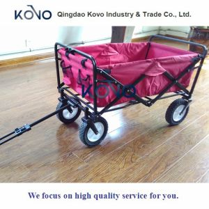 Folding Wagon Garden Beach Camping Outdoor Travel Collapsible Toys pictures & photos