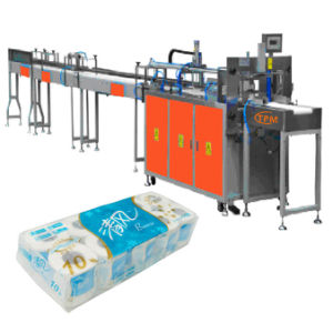 Automatic Tissue Paper Filling Toilet Rolls Packing Machine pictures & photos