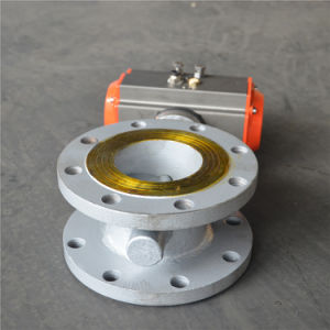 Hard Seat Electric Actuators Butterfly Valve pictures & photos