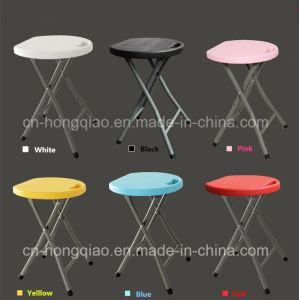 China Plastic Folding Stool With Ce Garden Furniture