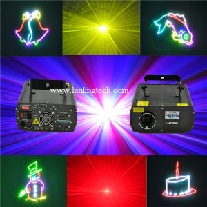 Cheap 1W RGB Animation Laser with Beautiful Effects Ilda pictures & photos