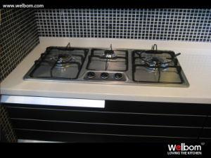 Welbom New Design Plywood Kitchen Cabinet pictures & photos