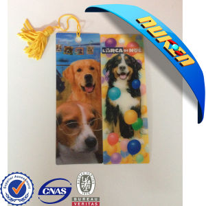 Pet Lenticular Lens Lenticular 3D Bookmarks pictures & photos