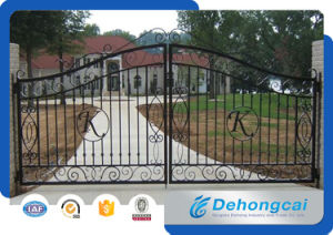 Modern Luxurious Craft Metal Gate pictures & photos