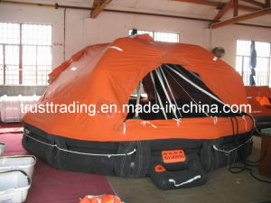 Davit Launched Inflatable Life Raft / Lifeboat pictures & photos