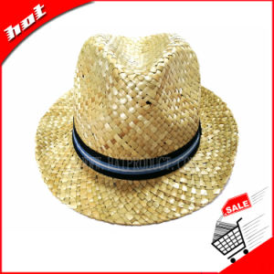 Seagrass Straw Fedora Hat pictures & photos