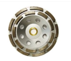 180mm Double Row Diamond Grinding Wheel (JL-DRDB) pictures & photos