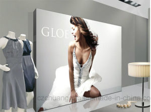 Retail LED Light Box with Backlit Graphic UV Printing pictures & photos