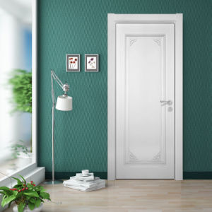 Oppein Classic White Simple Wooden Door with Lacquer Finish (MSJD43) pictures & photos