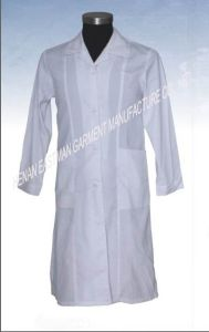 Hospital Uniform/Medical Scrubs/Lab Coat with Simply Style, Made of Polyester/Cotton, Poplin