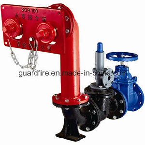 Wall-Mounted Pump Connector for Fire Fighting