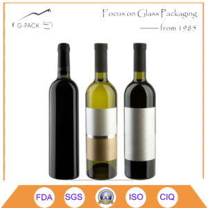 Bordeaux Glass Wine Bottle Whisky Bottle/Glass Liqueurs Bottle pictures & photos