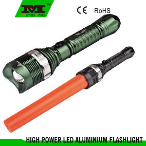 T6061 Aircraft-Grade Hardend Aluminum Adjust Focus LED Flashlight (8106)