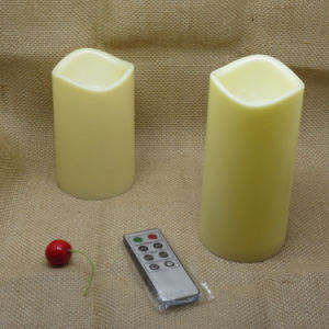 Remote Control LED Candle with Button pictures & photos