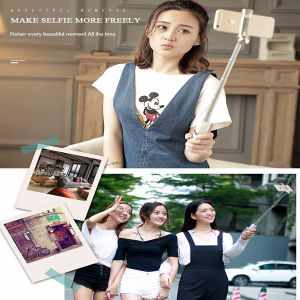 2016 Newest Lipstick Selfie Stick with Cable pictures & photos