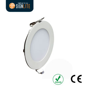 SMD2835 18W Round Slim LED Panel Downlight pictures & photos