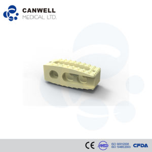 Canwell Plif Peek Cage Canpeek-P Orthopaedic Implant Spine Cage Fusion Cage pictures & photos