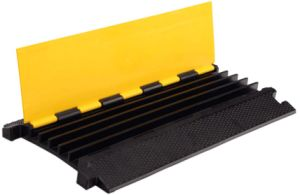 Heavy Loading Capacity 5 Channel Rubber Cable Protector Ramp pictures & photos